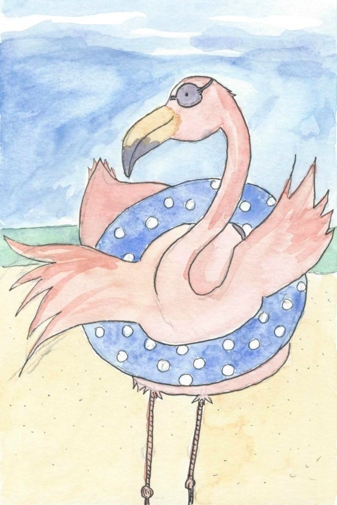 FlamingoFloat