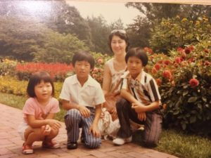 Me, Charles, Ah Yi, and Ken