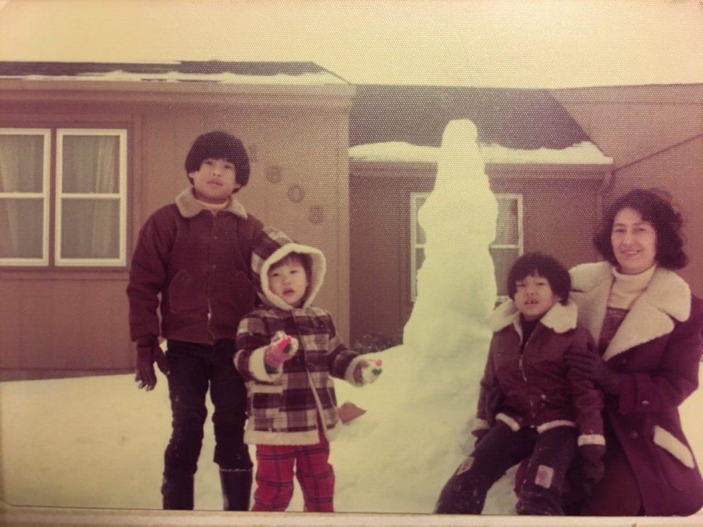 Ken, Me, Charles, and Ah Yi